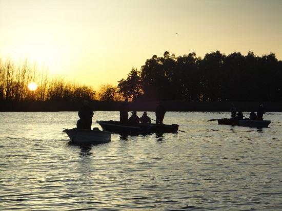 Pescar en la Laguna Blanca Grande